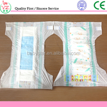 2017 Soft Breathale and good absorbency baby diaper/ under pad for newborn