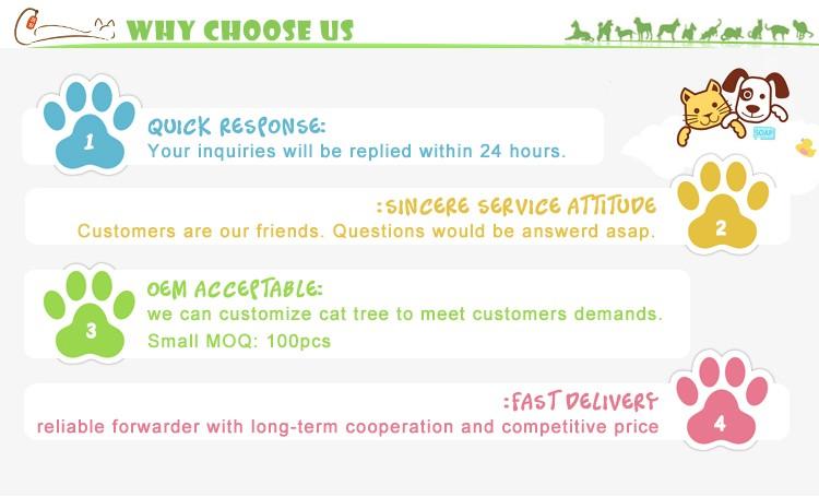 Новая игрушка кошка Китай Крытый Деревья Дизайн Кошки Скребут Дерево
