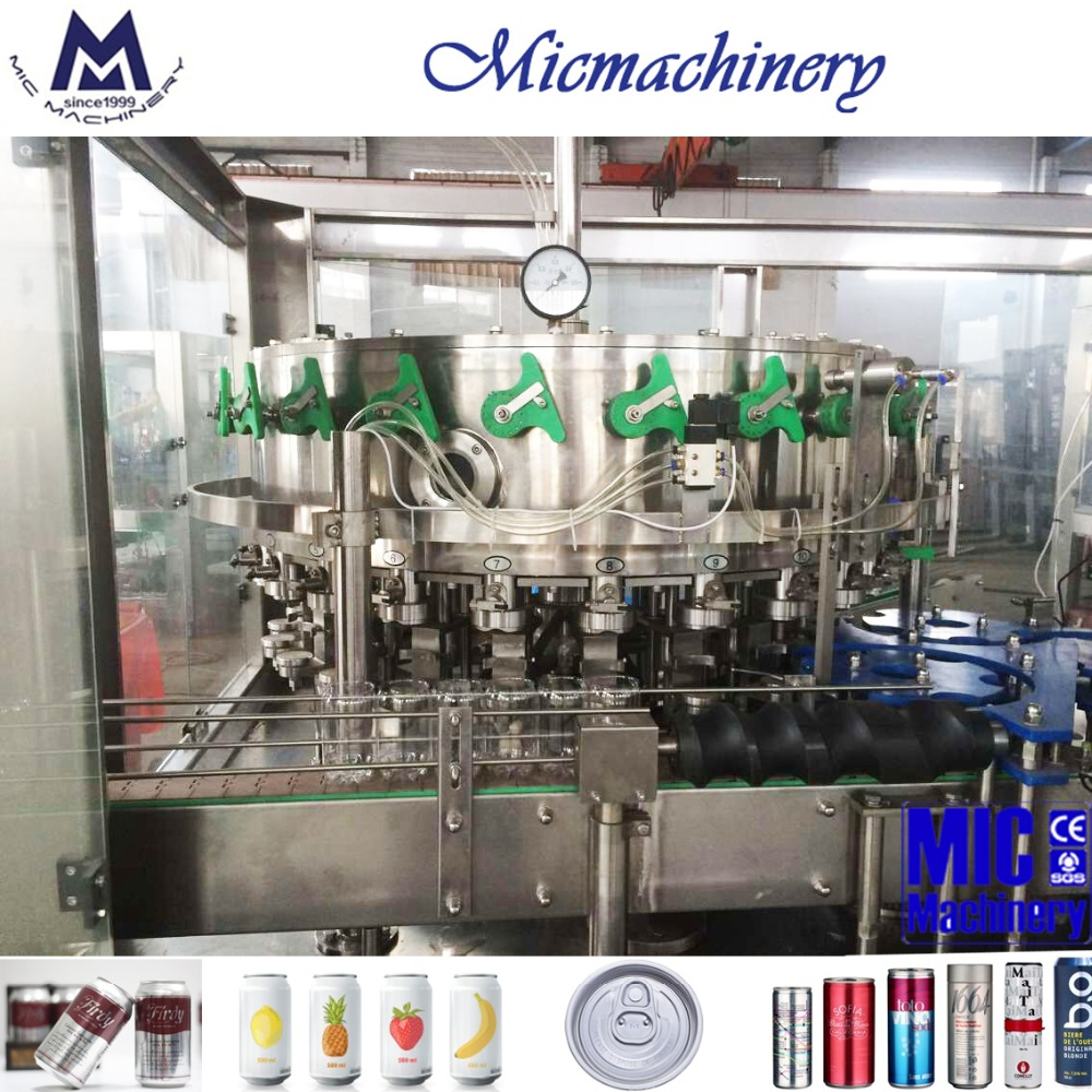 MIC-18-6 best price carbonated soft drink canning machine