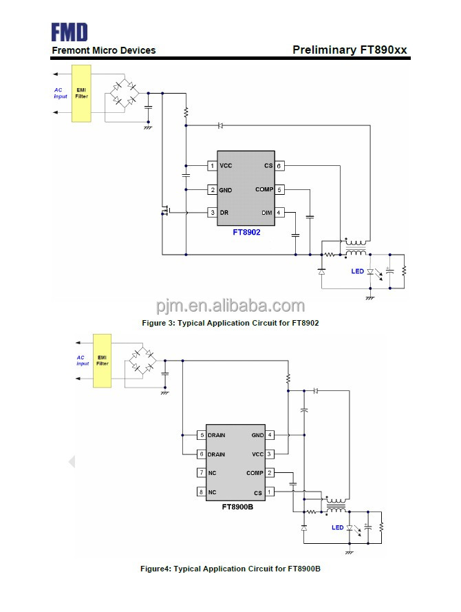 primary feedback control;high power factor;high current accurary;boundary conduction model operation;4558d ic...