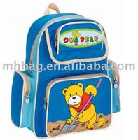 Cartoon picture children school bag