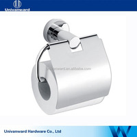 Bathroom mirror polished stainless steel napkin holder with cover