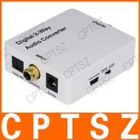 HDA-2CT Digital 2-way Audio Converter w/ Coaxial / Toslink / Mini USB - White