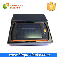 High Efficiency 23000mah battery backup voltage adjustable 12v solar charger for laptop and mobile