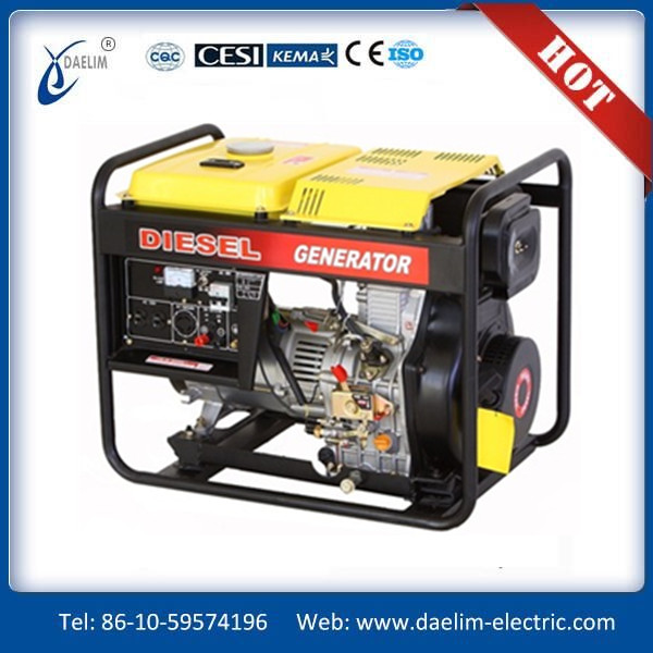 2kw/3kw/4kw/5kw 100% copper wire/single phase AC220V50HZ diesel generator/open type diesel engine