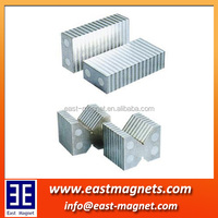 V shape block neodymium magnet for sale/V block ndfeb magnet for industry