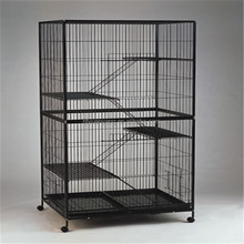 high quality large metal rabbit breeding playing cage house
