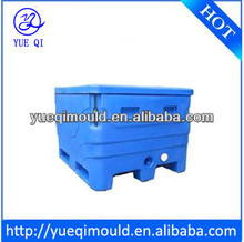 rotomolded plastic fish bin,made of lldpe