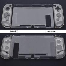 OEM Transparent Crystal Hard <strong>Case</strong> Protective <strong>Cover</strong> For Nintendo Switch Console And Joy-Con