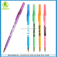 China new promotional best sale bic ballpen with cheapest price