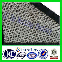 Hexagonal Mesh Polyester Fabric For Garments