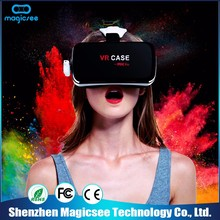 Best quality Fashionable design 3d gaming virtual screen glasses vr wifi case
