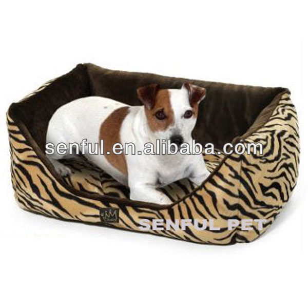 Tiger Polyester Dog Bed Pet Bed Dog Mat Pet Sofa