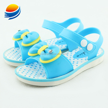 Beautiful Cheap Bow Front Plastic Children and Kids Shoes Sandals B3J18+1W