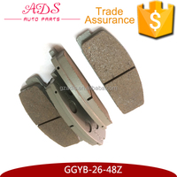 GGYB-26-48Z Ceramic Car Engine Spare Parts Brake Disc For Mazda 323 626 Mazda M6/B50/B70 Family Premacy