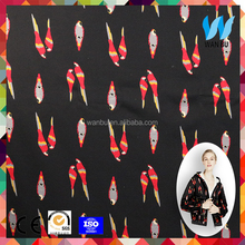 customized offset printed 100% cotton fleece fabric heavy weight