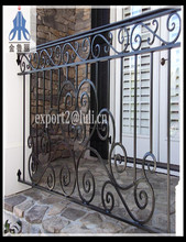 Manufacture Produce Ornamental Article cast iron metal fence panel