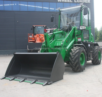ZL12F 1.2t wheel loader with Front End Loader andJoystick Pilot Control