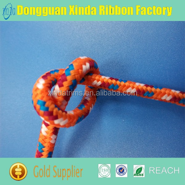 Factory Direct Colorful Cheap nylon flat rope