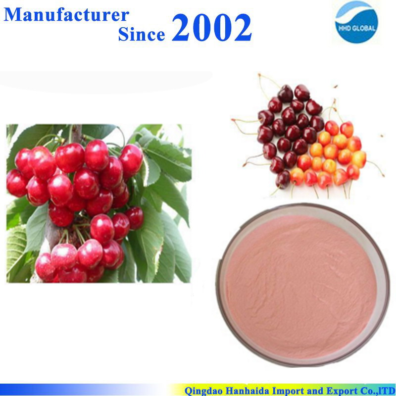 Hot sale & hot cake high quality nature Acerola Cherry P.E. , acerola cherry extract , acerola cherry powder