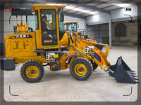 2016 zl918 compact wheel loaders with weichai 4102 engine , pallet fork ,standard bucket