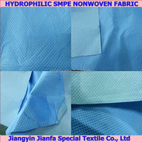 Supply Hydrophilic Spray Coated SMPE Nonwoven Fabric