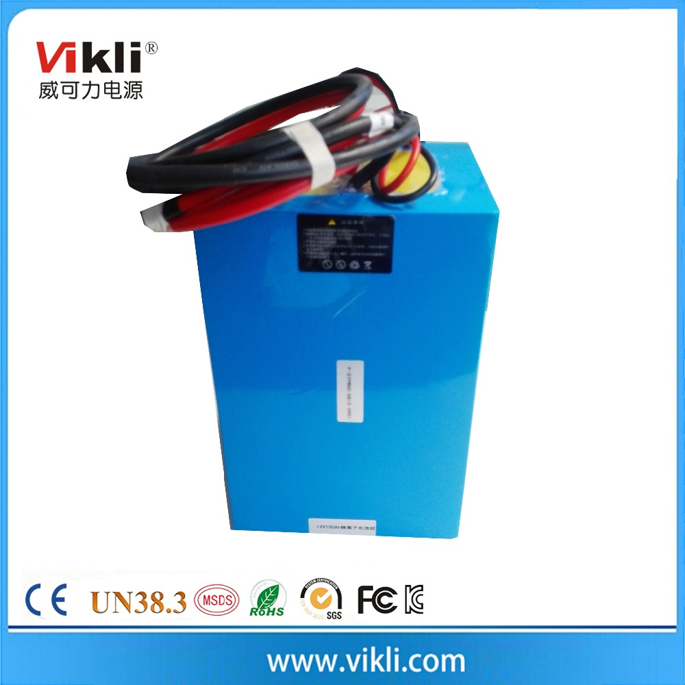 Lithium iron phosphate battery 12V120AH for PV and Solar system