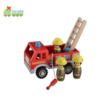 3D Diy Wooden Funny Toy Vehicle Car
