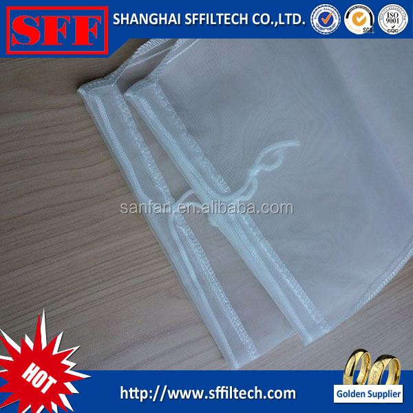 High quality micron nylon mesh filter bags