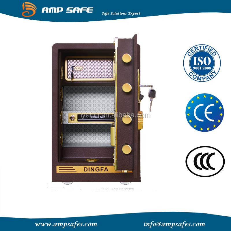 wall mounted large electronic safety coffer home safe deposit box