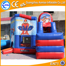 Good Quality Adult Commercial Bouncy House Spiderman Inflatable Bounce House with Factory Price