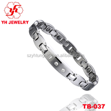 Shiny Sliver Tungsten Carbide Bracelets Cool Bracelets For Men