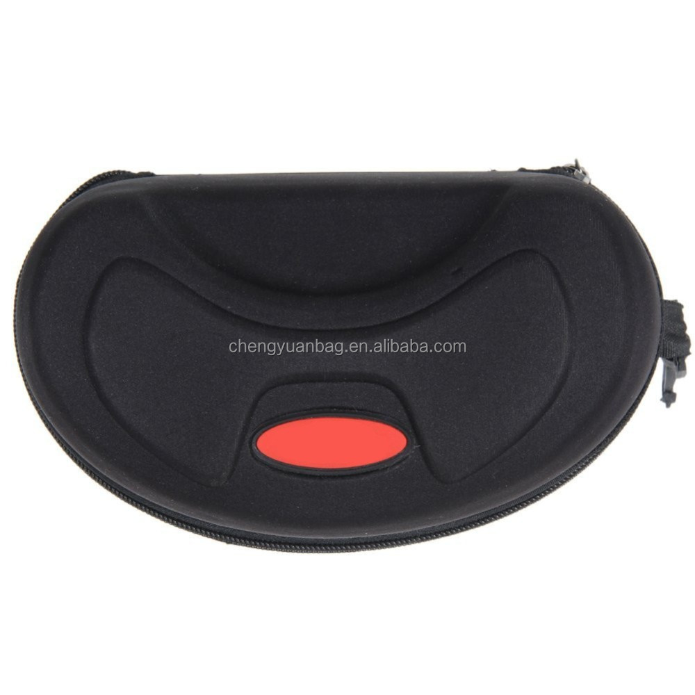 Shockproof Zipper Hook EVA Waterproof Ski Glasses Carrying Case Eyewear Box