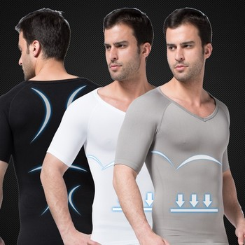 849 Shapewear Men Mens Compression Shirt Men's Underwear