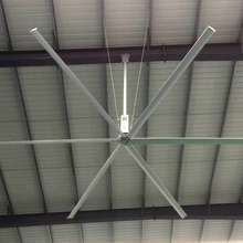 24ft Industrial Big Ceiling Fan of China 6blades