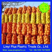 PP fresh mesh packaging fruit bag, circular mesh net bag