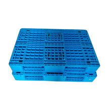Heavy duty 3 runners grid plastic pallets for tobacco
