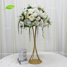 GNW CTRA1705008-B Special customized high-end artificial Hydrangea and Valentine's tears flower wedding table decoration