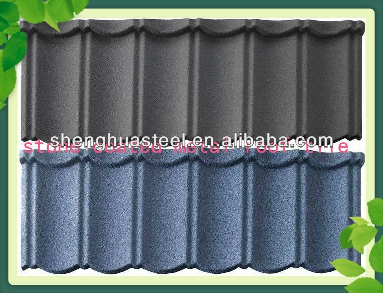 YIWU FACTORY Wholesale Stone Coated Roof Tile/Roof Tiles Prices/Sun Stone Coated Metal Roof Tile