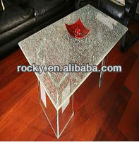 tempered pvb laminated ice crack safety GLASS