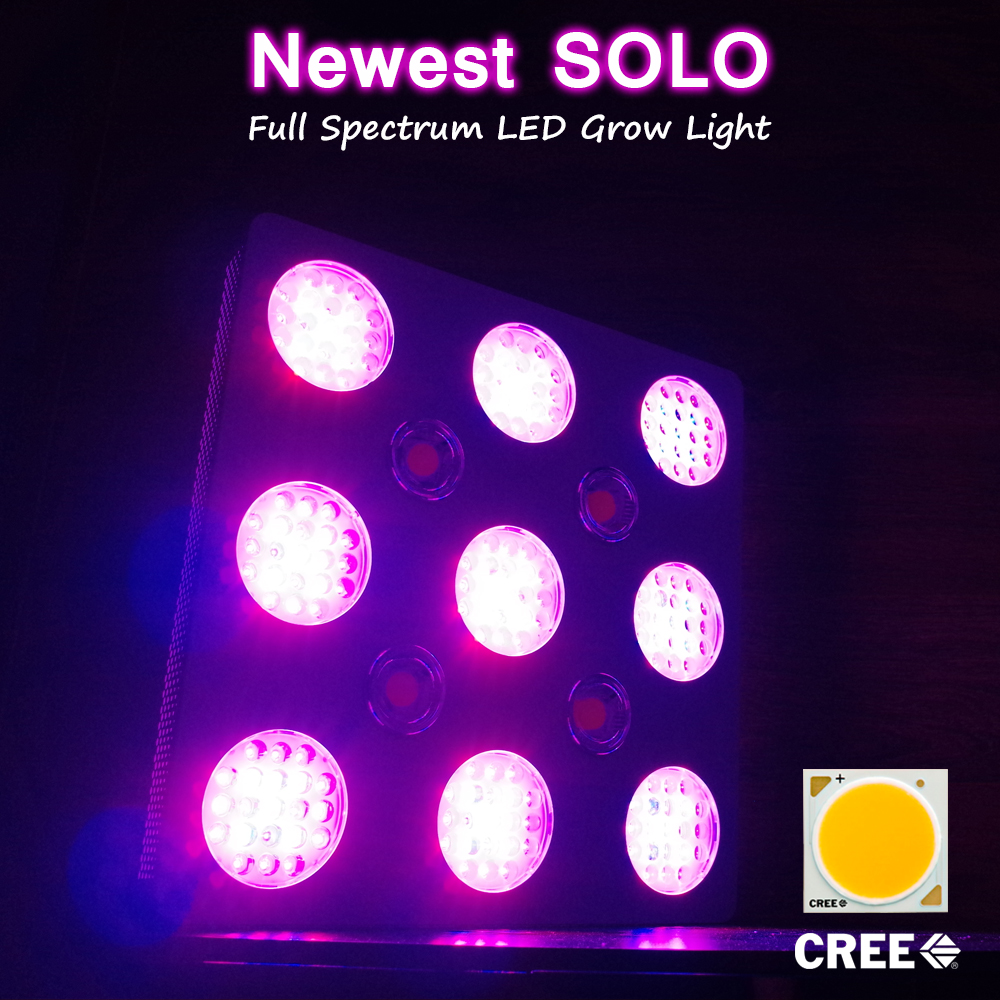 Most powerful led grow light 600 watt double ended for hydroponic garden greenhouse