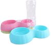 Plastic elevated dog bowls hot dog pet water dish