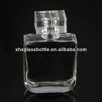75ml square perfume glass container for wholesale