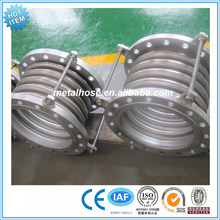 pipeline equipment flexible stainless steel pipe metal bellow compensator