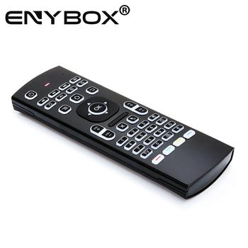 MX3 Pro Mini Air mouse Backlit 2.4 G Wireless Keyboard for Android TV Universal Remote Control