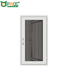 AS2047 aluminium french casement window with mosquito net