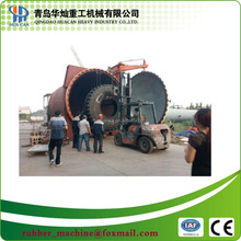 Hot retreaded machine for truck tire