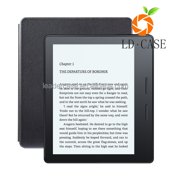 leather cover case for kindle touch,For kindle touch filp leather cover case