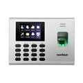 Hanging installation biometric access controller with fingerprint keypad TFT screen