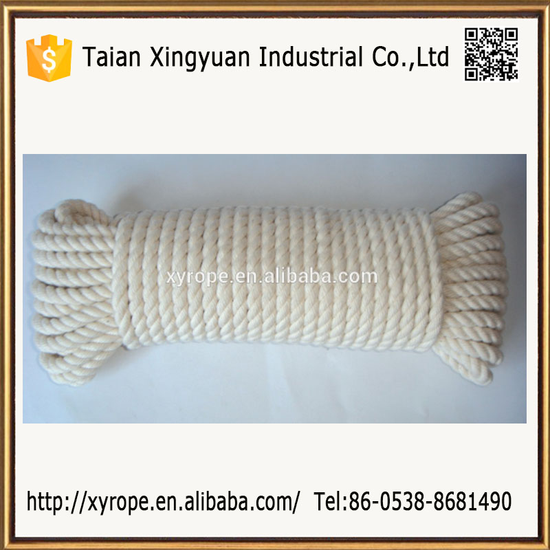 Universal Cotton Twisted Rope Natural White Cord